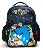 CCJ-34  NEW School Bags for Boys Printing Mochilas Backpack 2014 Backpacks Children's Cartoon Package bird animal kids'  mochila