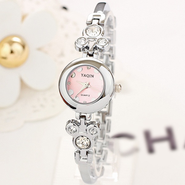 Wholesale Design Women Quartz mickey mouse Ladies stainless steel Fashion Watches relogio feminino women dress watches(China (Mainland))