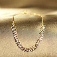 Fashion female fashion full rhinestone necklace decoration short necklace small accessories