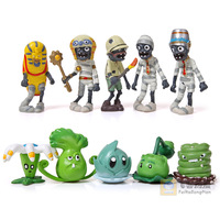 Plants VS Zombies PVZ Collection Figures 20pcs/set 2*10=20 zombies Figure Toys Whlesale and Retail