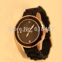 Wholesale New 2013 Men/Women Fashion Luxury Brand Quartz Casual Watch With CC logo&Jelly Watch