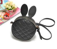 2014 New PU Leather Lovely Rabbit Ears Quilted Cross Body Bag,Messenger Bag,Shoulder Bag