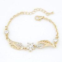 Han edition fashion cute angel wings of retro bracelet personality