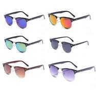 2015 Fashion  Women Brand Designer Retro Vintage Sunglasses Female Coating Black Gafas Oculos De Sol Feminino Sun Glasses Men