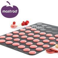 French Brand 100% Platinum Silicone Macaron Pastry Sheet Cake Baking Mat Tools Bakeware + Free Shipping