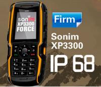100% original Sonim xp3300 ip68 rugged Waterproof phone GSM old Man shockproof GPS navigation Russian keyboard JCB