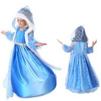 NEW!! dress Elsa & Anna autumn dress for girl Hot princess dresses brand girls dress Children Clothing christmas costumes