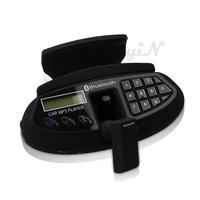 Bluetooth Car Kit Steering Wheel Bluetooth Car MP3+FM Transmitter+Wireless Earphone-black