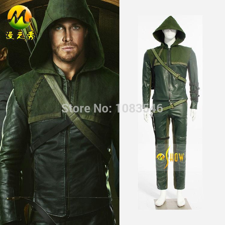 Green Arrow Costume Cosplay Costume Green Arrow Man