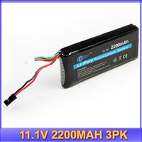 RC Futaba 3PK Transmitter TX 2200mah 11.1V lipo battery +free shipping