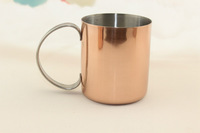 12oz stainless steel mule mug ,stainless steel copper mug ,moscow mule mug,moscow copper mule mug
