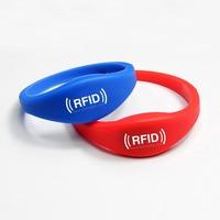 Silicone wristband RFID /bracelet waterproof 125KHz TK4100 LF Access Control Card Waterproof