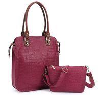 women's handbag 2014 fashion crocodile pattern OL outfit picture package laptop messenger bag women messenger bags AR803 CX50