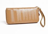 Promotion!2014 new Women's long wallets genuine leather zipper clutch bag purses ladies wallet wholesale carteira female wallet
