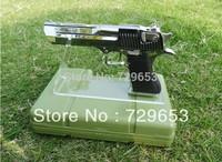 Clear Acrylic Plexiglass Pistols Holder Gun Display Stand Holder Free Shipping