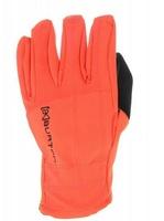 No.250007 Brand Ski Gloves Winter Skiing Gloves Men Waterproof Sports Snowboard Winter Bicycle Gloves Orange Size:S M L