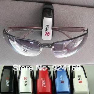 2pcs Fashion Smart Car Vehicle Sunglasses visor clip Eyeglasses Holder(China (Mainland))