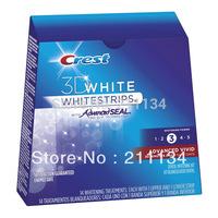 1 Box / Lot New CREST Whitestrips 3D Advanced Vivid 28 Strips