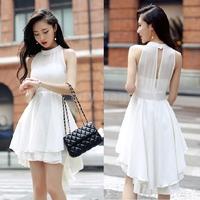 Bandage Runway Dress Mint Maxi Lolita Women Novelty Cute Lace Dresses Peplum Party New Black/Red SizeM,L,XL