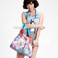 Black fashion high quality handbags pu and rivet shoulder bag messenger bag women's handbag work bags  SO-297