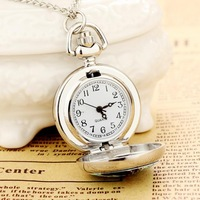 Women's vintage pocket watch necklaces Top Quality New Arrival Fashion Jewelry Alloy Chain Pocket Watch Free Shipping Russia