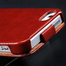 Newest Retro Luxury Flip Phone Case For Iphone 4 4S 4G 5 5S 5G PU Leather