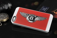 1Piece Free Shipping Bentley Logo Back Cover Case For Iphone 5 Sports Car Shell Cover