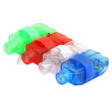 4pcs multicolor LED brillante anillo de dedo láser regalo luz de la lámpara emite la antorcha para el partido KTV Bar(China (Mainland))