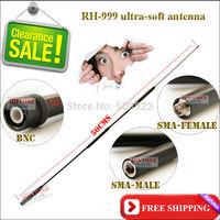 2015 Most popular handheld radio antenna RH-999 bnc antenna (Mini order 10USD)