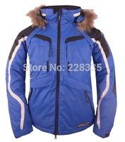large Fur Collar  Men's outdoor skiing jacket outerwear