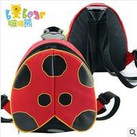 2014 New arrival bobear wholesale &1pcs children backpack kids girls ladybug satchel Kindergarten animal bags school backpacks