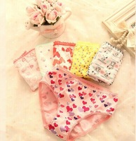 Free shipping!12pcs /lot baby Girls underwears children cotton short pants Kids panties  mix colors