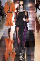 Free Shipping 2014 Catwalk Fashion Half Petal Sleeves Pleated Print Dress Woman Twinset  With Belt