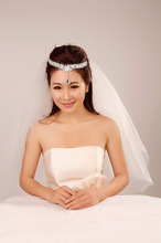 Bride crystal alloy hair accessory the bride hair accessory wedding accessories marriage wedding accessories female