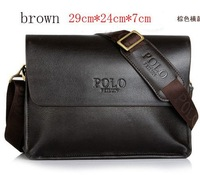 Fashion New 2013 [GENUINE LEATHER] shoulder bags men messenger handbag briefcases Men's handbags 6201K Free shipping