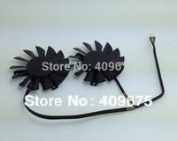 Power Logic PLD08010B12HH 12V 0.35A 4Wire For MSI R7850 HD7850 R7950 HD7950 R7870 HD7870 Graphics fan,Twin Cooling Fan
