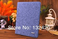 New fashion PRINTING design Lether Smart Case for ipad mini & mini retina Lether cover case Fold Stand