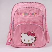 KT3581 PROMATION! Hot Children Backpack Cute Hello Kitty Kids Cartoon School Bag Kindergarten Satchels Mochilas Bolsas