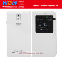 Flip Window View PU Leather Protective Case For Elephone P8 Smart Phone