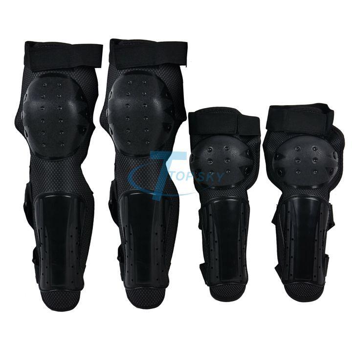 Moto Racing Protective Gear Set Motorcycle Protection Shin Elbow Knee Pad Protector Body Guard Armour Black WTK0960#(China (Mainland))