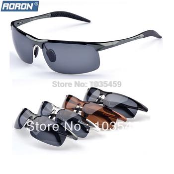 2014 новый горячая распродажа модной магний-алюминиевый поляризованные очки вождения ...