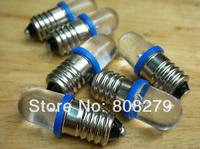 20 pieces / lot E10 1447 style Screw LED Lamp Light Bulb Light 12V Volt