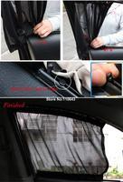 New Car Sunshade Auto 2PCS 70L Flat Window Curtain Sunshade Sun 71 x 47cm/27.69x18.33inch 12349