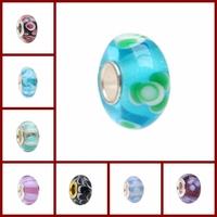 Under 1 dollar,  fit for baigi european bracelets for women jewelry jewellery multi-choice lots set murano glass beads