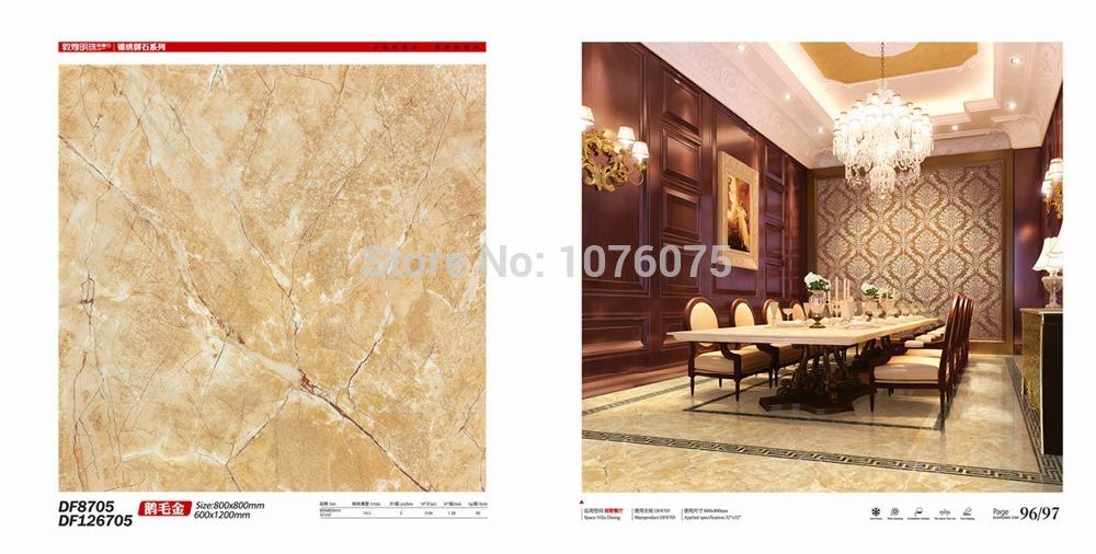 microcrystalline Ceramic tile floor tiles 800x800mm full glaze floor tile slip-resistant glassified(China (Mainland))