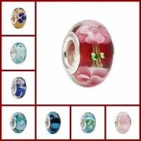 Under 1 dollar,  fit for european bracelets for women jewelry jewellery multi-choice lots sets murano glass beads