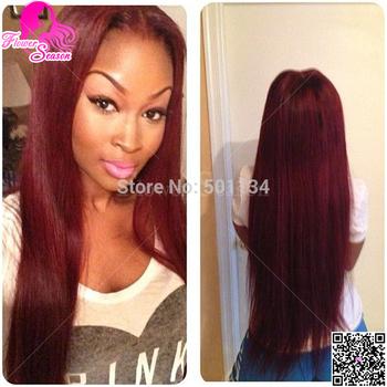 99j Full Lace Wig Human Hair Glueless & Glue Virgin Brazilian Silk Top Straight Wig Silk Base Lace Front Wig For Black Women