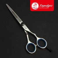 free shipping Top edges  brand hair scissors flat cut fringe hair cutting shear