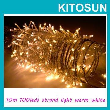 Светодиодная лампа KITOSUN 220/110 8displays 10M 100 KS-LS-100M