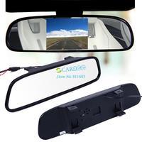 "3pcs/lot New 4.3"" TFT-LCD Special Rear View Mirror Car Rearview Mirror Reverse Car Monitor Backup Camera DVD 12V 19462"